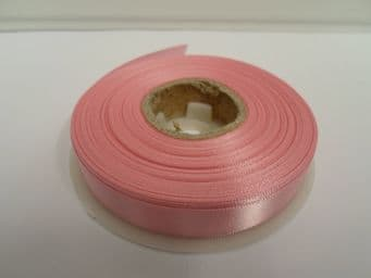 Light Pink Satin ribbon Double sided 3mm 7mm 10mm 15mm 25mm 38mm 50mm Roll Bow